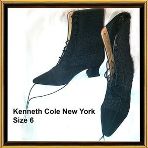 KENNETH COLE NEW YORK - Black Boots - Size 6
